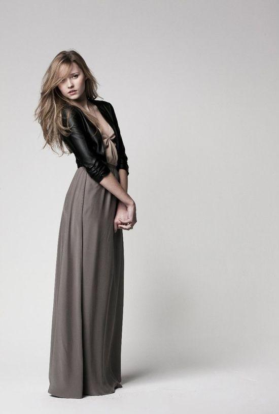 Maxi + leather