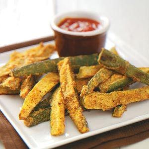Zucchini Fries for 2 Recipe from Taste of Home
