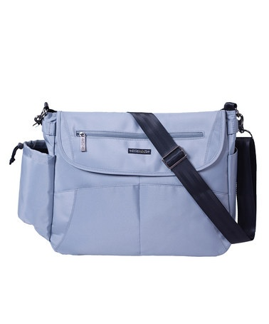 Take a look at this Scandinavian Silver Oslo Diaper Bag by Easy Travel Collection on #zulily today! Love this bag and usually expensive would rather have the choco but hey not picky