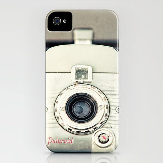 iPhone 5 Case vintage Polaroid camera case by Carl Christensen