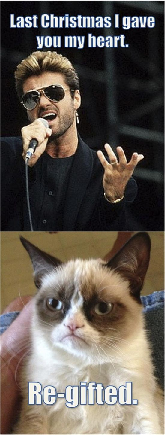 Grumpy Cat. I love you. Deal with it.