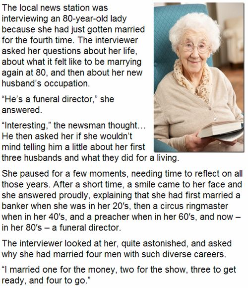 This lady is too funny!