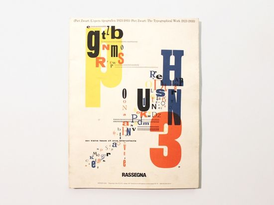 Piet Zwart: L'opera tipografica 1923–1933, 1987
