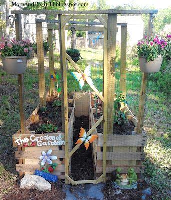 Cute kids garden