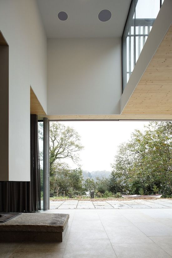 D house by Lode Architecture #house #nature #france #architecture #interior