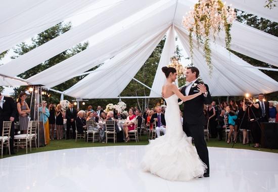 Bride & Grooms First Dance // Photo: Samuel Lippke Studios and Allan Zepeda // Wedding Planning: Details Details // TheKnot.com