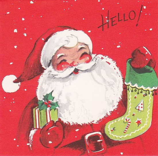 Gibson Santa HELLO! by hmdavid, via Flickr