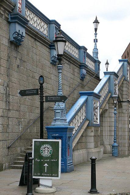Starbucks & Tower Bridge, London