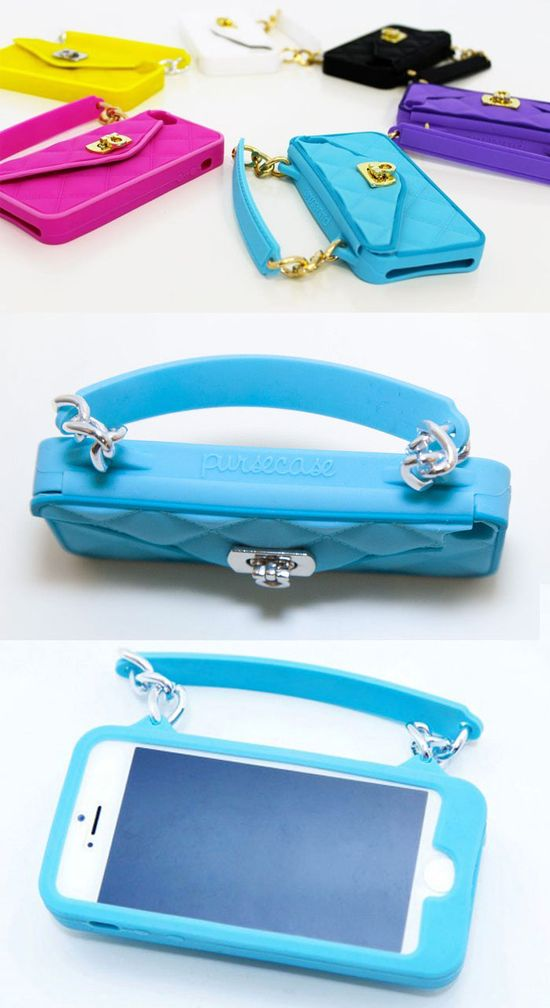 The Pursecase is both your iPhone case AND your purse!