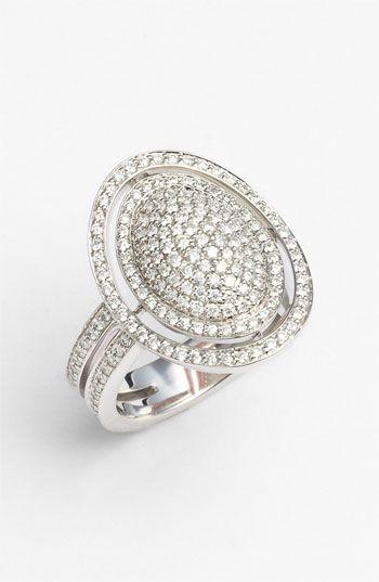 Ivanka Trump Signature Pavé Diamond Ring