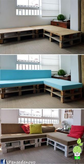 Sugared Grapefruit: 3 Easy Pallet Furniture Ideas