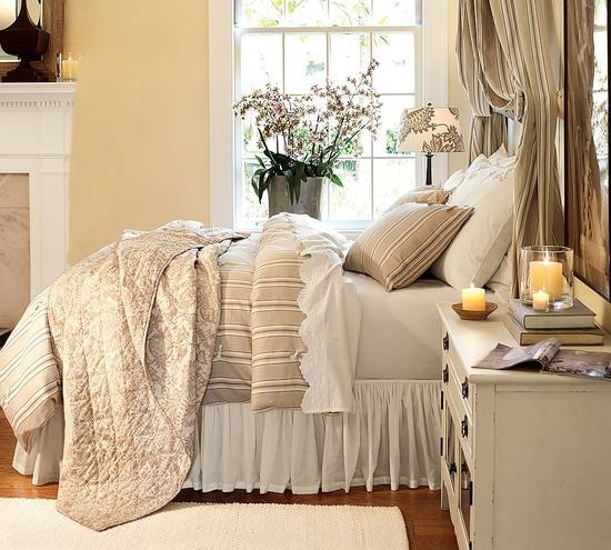 Pottery Barn bedroom design