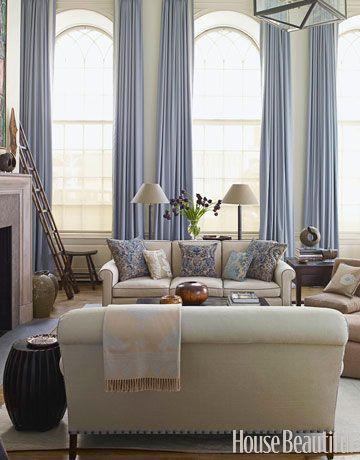 Soothing living room. Design: Christopher Maya. #living_room