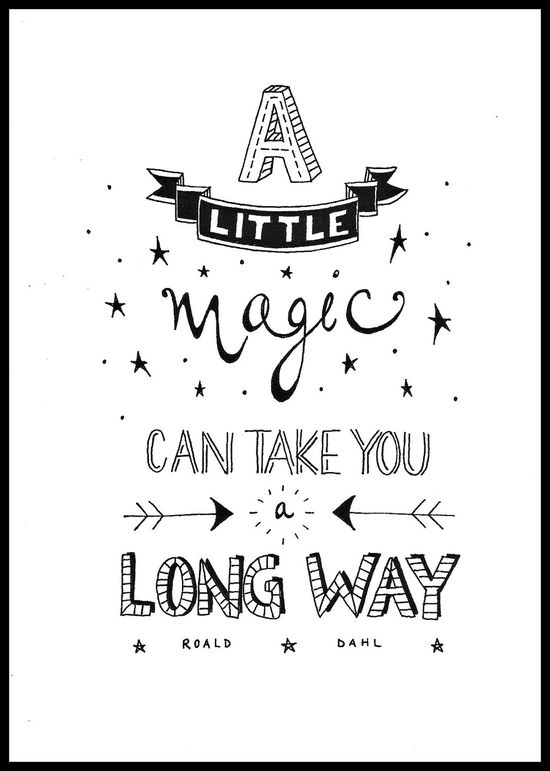 A little magic.
