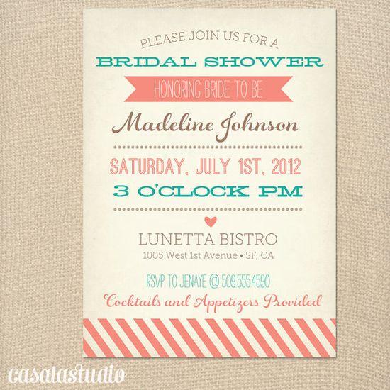 Shower invitations?