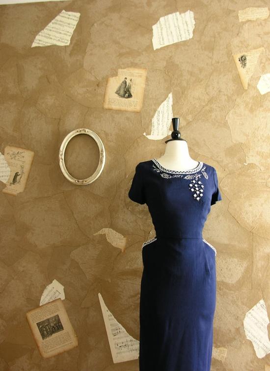 Fabulous 1940s dress