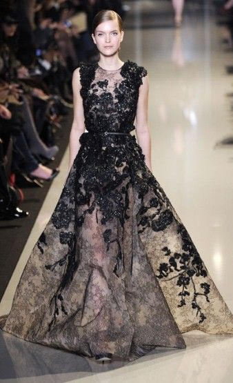 Elie Saab Couture Spring/Summer 2013 High Fashion Haute Couture