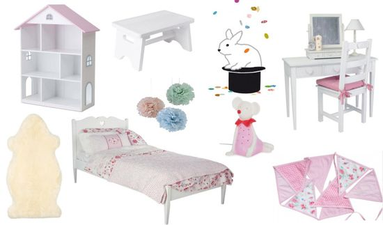 Interior Ideas for a Little Girl's Room