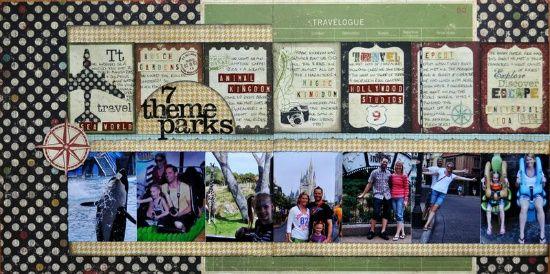 7 theme parks - Scrapbook.com