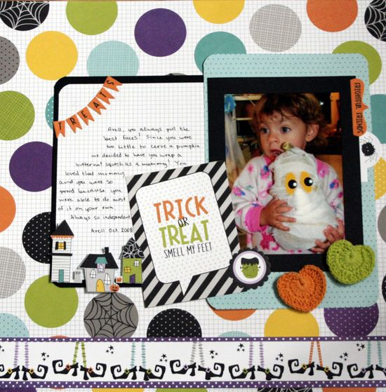 Trick or Treat - Scrapbook.com