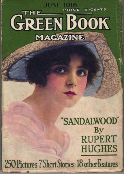 Olive Thomas on Green Book cover