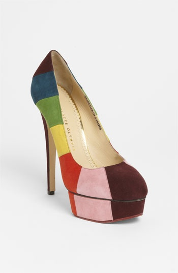Charlotte Olympia 'Rainbow' Pump available at Nordstrom