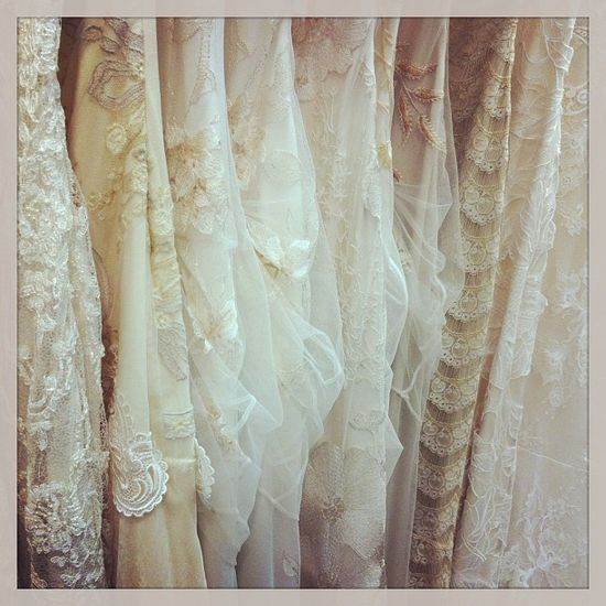 Claire Pettibone wedding gowns available at @Mestads Bridal - Trunk Show today Feb 15-17 Photo by www.mestads.com/