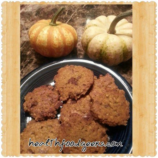 Quick and Easy Pumpkin Cookies - Health Food Geeks