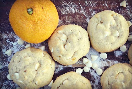 White Chocolate Orange Burst Cookies Recipe! #cookie #recipes