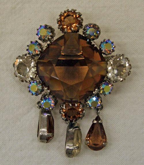 Dior pin ~ 1950s