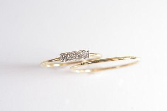 sappho/sol rings, etsy