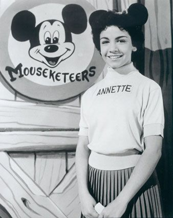 Annette and the Mickey Mouse Club...M I C K E Y. Why because I like you.. MOUSE