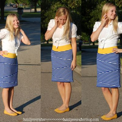 Featured: Bandage Skirt Tutorial