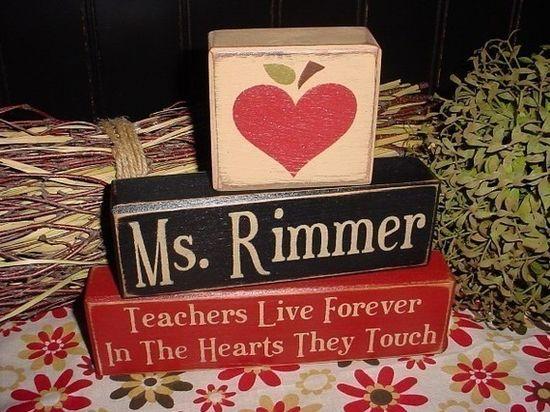 For teacher gifts