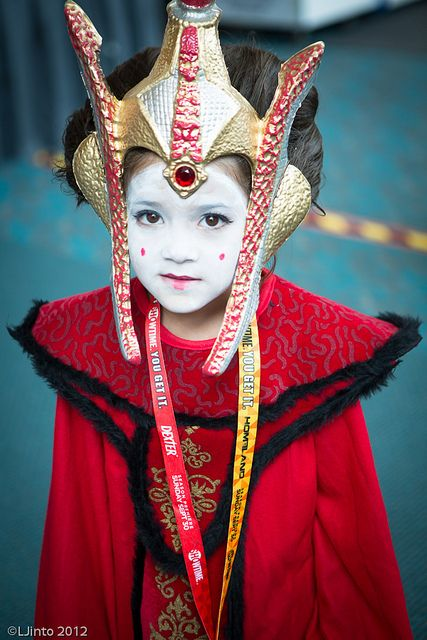 Little Queen Amidala, photo by LJinto at SDCC.