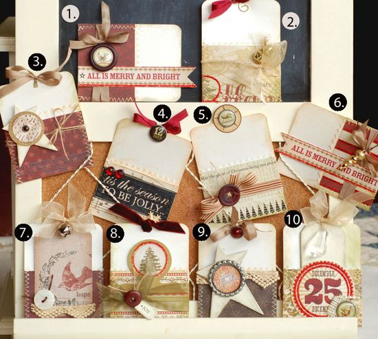 Gift card holder tags..