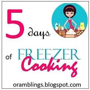 5 Days of Freezer Cooking