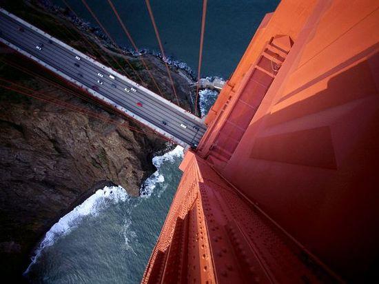 Amazing shot of the Golden Gate Bridge