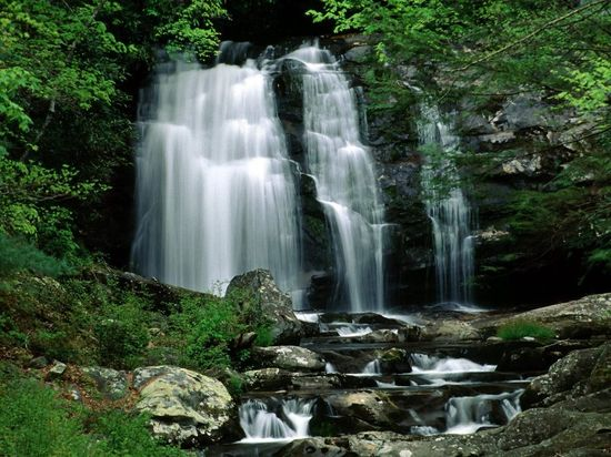 Great Smoky Mountains National Park- Newfound Gap Road, Tennessee, USA.