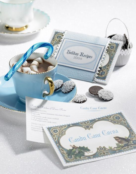Pretty Recipe Cards