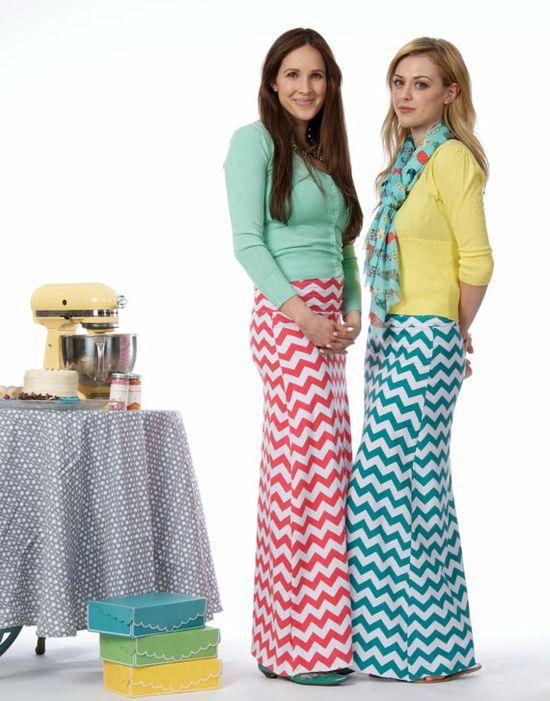 I want those skirts!
