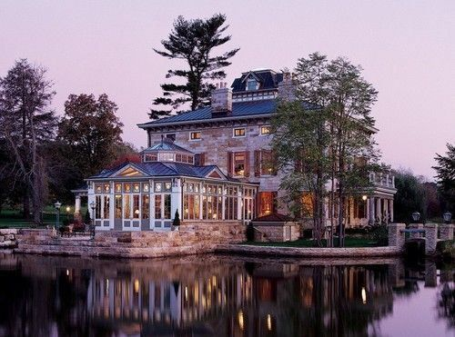 cool lake house