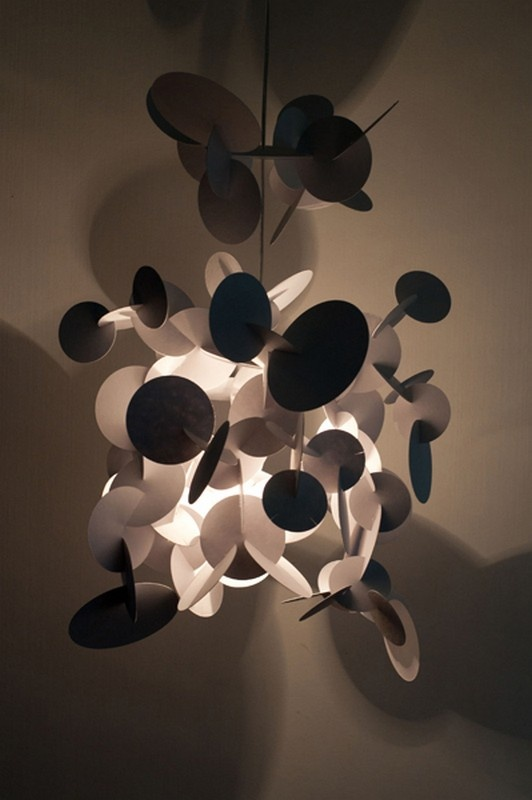 Luminaire Leaves On The Shadow en KIT -  for La Nomade du Design  Designer : Vanessa Vaugeois