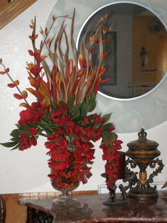 My flower arrangement