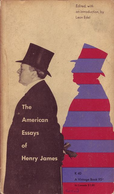 04 Paul Rand, cover for The American Essays of Henry James (Vintage, 1956)