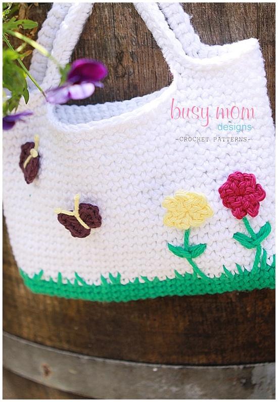 Little Girl's Purse - Crochet Pattern
