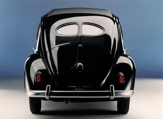 VW Kafer Black Back