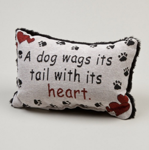 Dog lovers pillow.