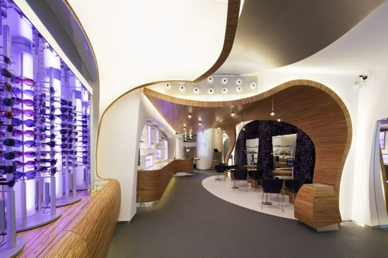 Hofstede Optiek Entrance Floor Interior Design