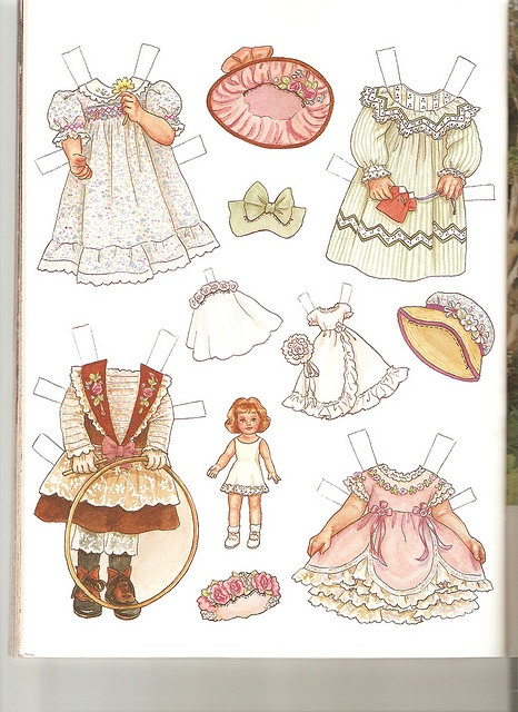 Sew Beautiful paper doll Martha 2 - lots more paper dolls in this flickr set by Lagniappe*Too